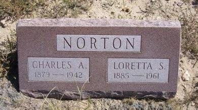 NORTON, CHARLES A - Las Animas County, Colorado   CHARLES A NORTON - Colorado Gravestone Photos