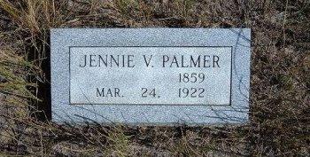 PALMER, JENNIE VICTORIA - Las Animas County, Colorado | JENNIE VICTORIA PALMER - Colorado Gravestone Photos