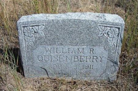 QUISENBERRY, WILLIAM R - Las Animas County, Colorado | WILLIAM R QUISENBERRY - Colorado Gravestone Photos