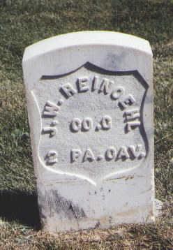 REINOEHL, J. W. - Las Animas County, Colorado | J. W. REINOEHL - Colorado Gravestone Photos