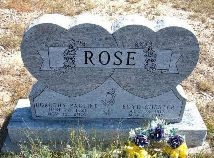 ROSE, DOROTHY PAULINE - Las Animas County, Colorado | DOROTHY PAULINE ROSE - Colorado Gravestone Photos