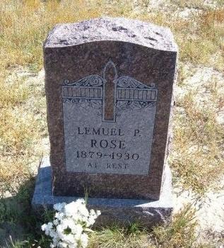 ROSE, LEMUEL PERKINS - Las Animas County, Colorado | LEMUEL PERKINS ROSE - Colorado Gravestone Photos