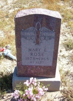 SHELTON ROSE, MARY EMMA  - Las Animas County, Colorado   MARY EMMA  SHELTON ROSE - Colorado Gravestone Photos