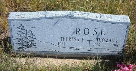 ROSE, THOMAS EARL - Las Animas County, Colorado   THOMAS EARL ROSE - Colorado Gravestone Photos