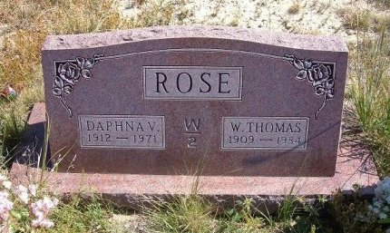 ROSE, DAPHNA V - Las Animas County, Colorado | DAPHNA V ROSE - Colorado Gravestone Photos