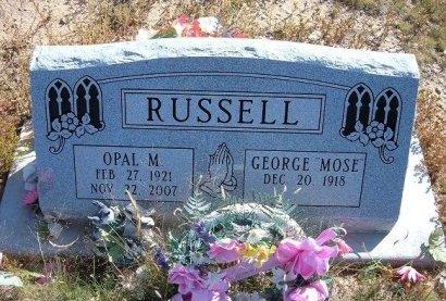 RUSSELL, OPAL M - Las Animas County, Colorado | OPAL M RUSSELL - Colorado Gravestone Photos