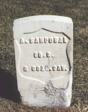 SANDOBAL, A. - Las Animas County, Colorado | A. SANDOBAL - Colorado Gravestone Photos
