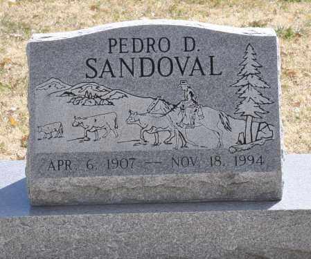 SANDOVAL, PEDRO D. - Las Animas County, Colorado | PEDRO D. SANDOVAL - Colorado Gravestone Photos