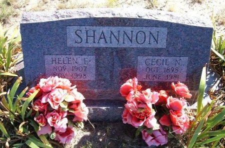 SHANNON, CECIL NEELY - Las Animas County, Colorado | CECIL NEELY SHANNON - Colorado Gravestone Photos