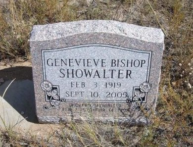 SHOWALTER, GENEVIEVE - Las Animas County, Colorado | GENEVIEVE SHOWALTER - Colorado Gravestone Photos