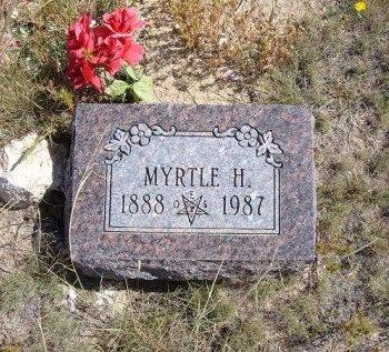 SMITH, MYRTLE H - Las Animas County, Colorado | MYRTLE H SMITH - Colorado Gravestone Photos