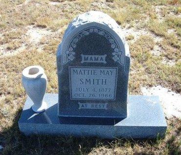 SMITH, MATTIE MAY - Las Animas County, Colorado | MATTIE MAY SMITH - Colorado Gravestone Photos