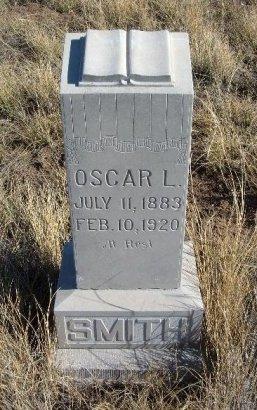 SMITH, OSCAR L - Las Animas County, Colorado | OSCAR L SMITH - Colorado Gravestone Photos