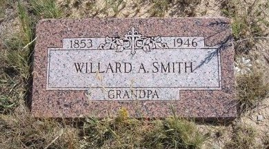 SMITH, WILLARD A - Las Animas County, Colorado | WILLARD A SMITH - Colorado Gravestone Photos