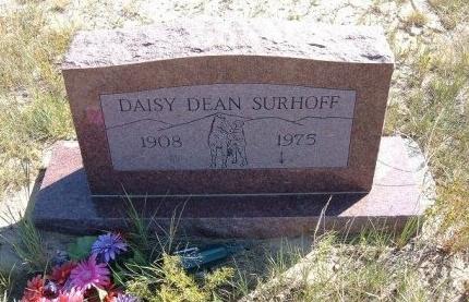SURHOFF, DAISY DEAN - Las Animas County, Colorado | DAISY DEAN SURHOFF - Colorado Gravestone Photos