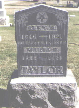 TAYLOR, ALEX H. - Las Animas County, Colorado | ALEX H. TAYLOR - Colorado Gravestone Photos