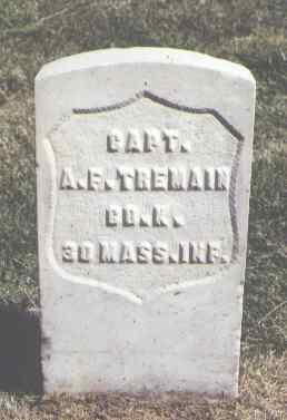 TREMAIN, A. E. - Las Animas County, Colorado | A. E. TREMAIN - Colorado Gravestone Photos
