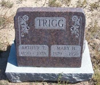 TRIGG, MARY H - Las Animas County, Colorado | MARY H TRIGG - Colorado Gravestone Photos
