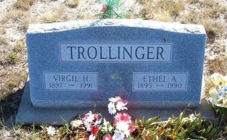 MARTIN TROLLINGER, ETHEL ALICE - Las Animas County, Colorado | ETHEL ALICE MARTIN TROLLINGER - Colorado Gravestone Photos