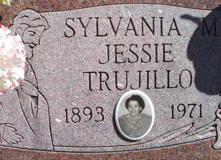 MONTOYA TRUJILLO, SYLVANIA JESSIE - Las Animas County, Colorado | SYLVANIA JESSIE MONTOYA TRUJILLO - Colorado Gravestone Photos