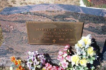 UNWIN (VETERAN WWII), HARVEY ROGERS - Las Animas County, Colorado | HARVEY ROGERS UNWIN (VETERAN WWII) - Colorado Gravestone Photos