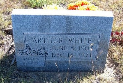 WHITE, ARTHUR - Las Animas County, Colorado | ARTHUR WHITE - Colorado Gravestone Photos
