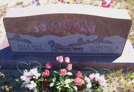 YOCAM, ELLA MAE - Las Animas County, Colorado | ELLA MAE YOCAM - Colorado Gravestone Photos