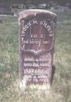 SILVERS, SARAH E. - Lincoln County, Colorado | SARAH E. SILVERS - Colorado Gravestone Photos