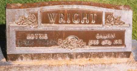 WRIGHT, LOTTIE - Lincoln County, Colorado   LOTTIE WRIGHT - Colorado Gravestone Photos