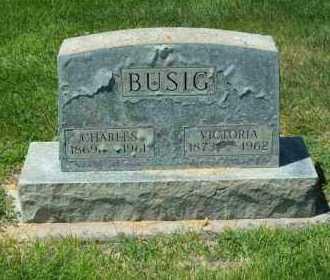 MARTIN BUSIG, VICTORIA - Logan County, Colorado | VICTORIA MARTIN BUSIG - Colorado Gravestone Photos