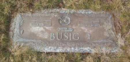 BUSIG, SARAH - Logan County, Colorado   SARAH BUSIG - Colorado Gravestone Photos