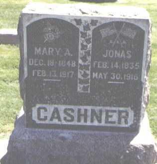 CASHNER, JONAS - Logan County, Colorado   JONAS CASHNER - Colorado Gravestone Photos
