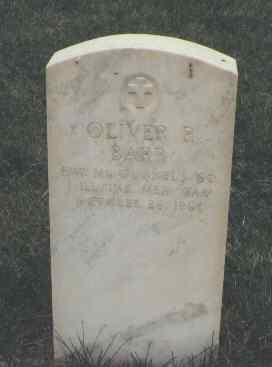 BARR, OLIVER P. - Mesa County, Colorado | OLIVER P. BARR - Colorado Gravestone Photos