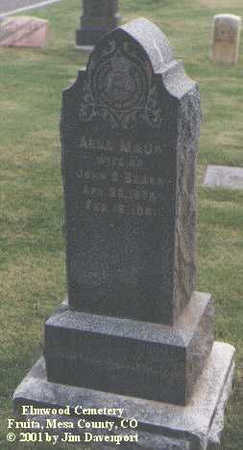 BEARD, ANNA MAUD - Mesa County, Colorado | ANNA MAUD BEARD - Colorado Gravestone Photos