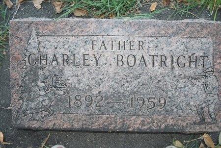 BOATRIGHT, CHARLEY - Mesa County, Colorado | CHARLEY BOATRIGHT - Colorado Gravestone Photos