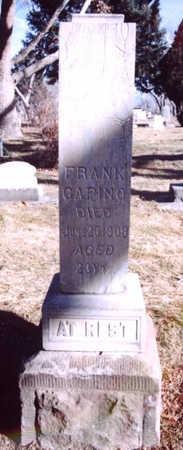 CAPINO, FRANK - Mesa County, Colorado | FRANK CAPINO - Colorado Gravestone Photos