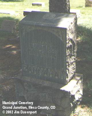 CARNAHAN, JAMES S. - Mesa County, Colorado | JAMES S. CARNAHAN - Colorado Gravestone Photos