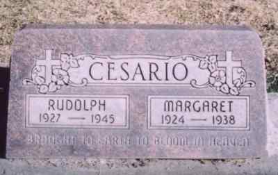 CESARIO, RUDOLPH - Mesa County, Colorado | RUDOLPH CESARIO - Colorado Gravestone Photos
