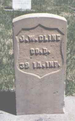 CLINE, J. W. - Mesa County, Colorado | J. W. CLINE - Colorado Gravestone Photos