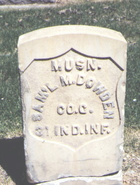 DOWDEN, SAM'L M. - Mesa County, Colorado | SAM'L M. DOWDEN - Colorado Gravestone Photos