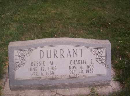 DURRANT, BESSIE M. - Mesa County, Colorado   BESSIE M. DURRANT - Colorado Gravestone Photos