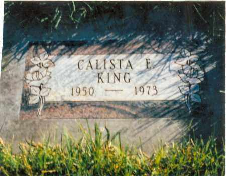 KING, CALISTA - Mesa County, Colorado | CALISTA KING - Colorado Gravestone Photos