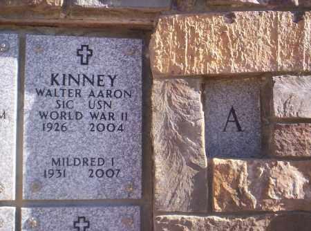 KINNEY, WALTER AARON - Mesa County, Colorado   WALTER AARON KINNEY - Colorado Gravestone Photos