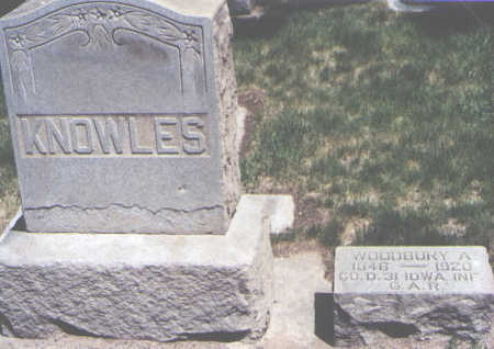 KNOWLES, WOODBURY A. - Mesa County, Colorado | WOODBURY A. KNOWLES - Colorado Gravestone Photos