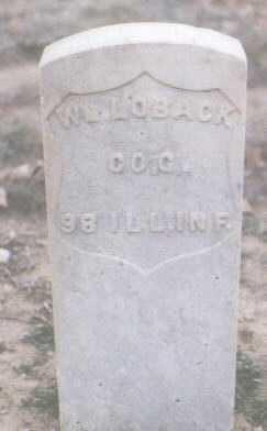 LOBACK, WILLIAM - Mesa County, Colorado | WILLIAM LOBACK - Colorado Gravestone Photos