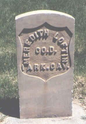 LOFTIN, MEREDITH - Mesa County, Colorado | MEREDITH LOFTIN - Colorado Gravestone Photos