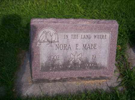 MABE MABE, NORA - Mesa County, Colorado | NORA MABE MABE - Colorado Gravestone Photos
