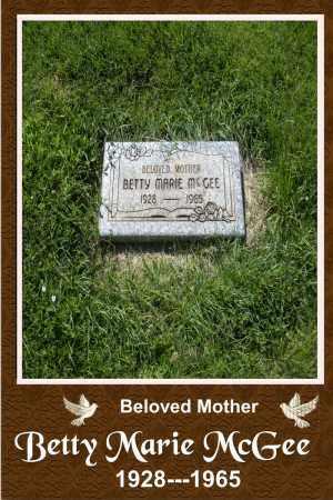 HODSON MCGEE, BETTY - Mesa County, Colorado | BETTY HODSON MCGEE - Colorado Gravestone Photos