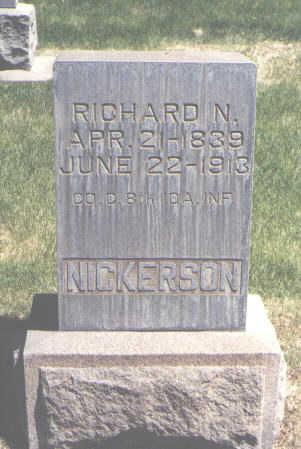 NICKERSON, RICHARD N. - Mesa County, Colorado | RICHARD N. NICKERSON - Colorado Gravestone Photos