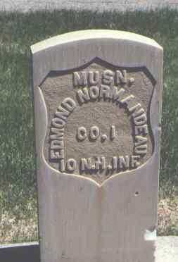 NORMANDEAU, EDMOND - Mesa County, Colorado | EDMOND NORMANDEAU - Colorado Gravestone Photos